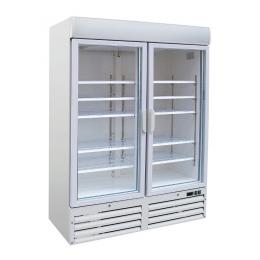 Congélateur vitré 2 portes 920 L