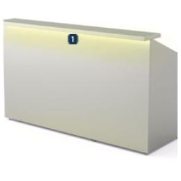 Éclairage LED sous un comptoir