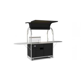 Bar Bain-Marie cart 1500