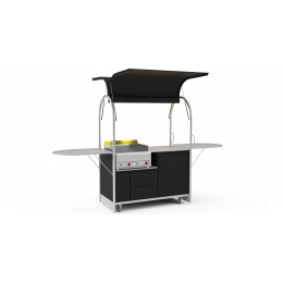 Bar mobile Grill cart 1500