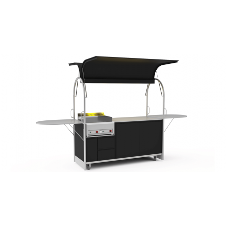 Bar mobile Grill cart 2000