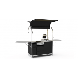 Bar mobile Hot dog cart 1500