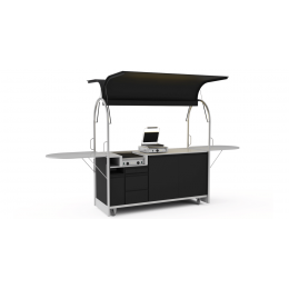 Bar mobile Hot dog cart 2000