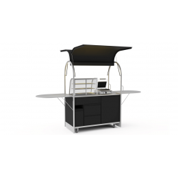 Bar mobile Sandwich cart 1500