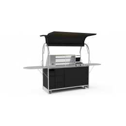 Bar mobile Sandwich cart 2000