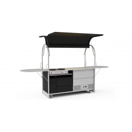 Bar mobile Crepes cart 2000