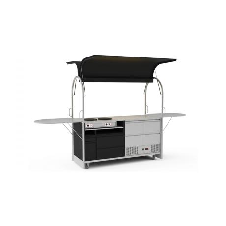 Bar mobile Crepes cart 2000