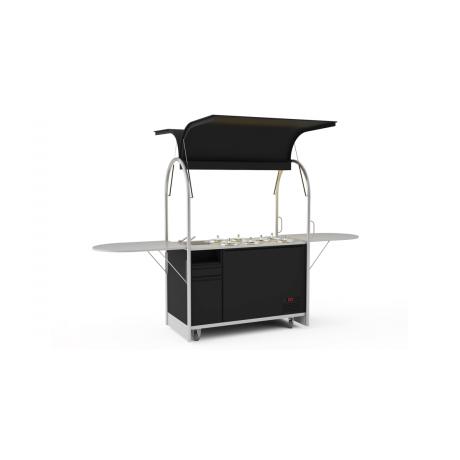 Bar mobile à glace Cart 1500