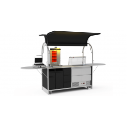 Bar mobile Gyros cart 2000