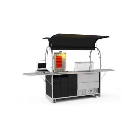 Bar mobile Gyros cart 2000