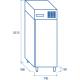 Armoire inox PA 800TN de 800L