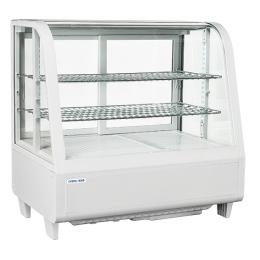 Vitrine de comptoir réfrigérée RC 100W de 100L