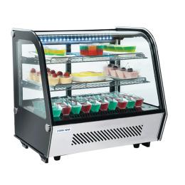 Vitrine de comptoir réfrigérée RC 120 de 120L