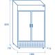 Réfrigérateur TKG 1000CB de 1055 L