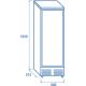 Réfrigérateur DC 600H de 600 L