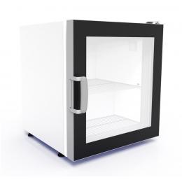 Congélateur vitré blanc 73 L