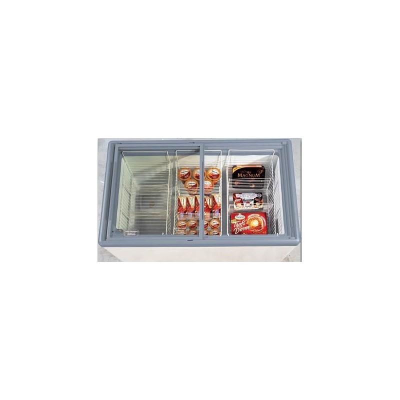 Congélateur idéal pour la vente de glace 300 Litres