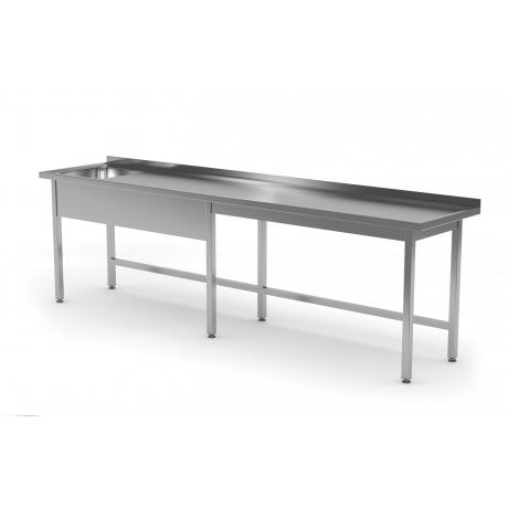 Table avec évier à gauche ou à droite POL-211-6