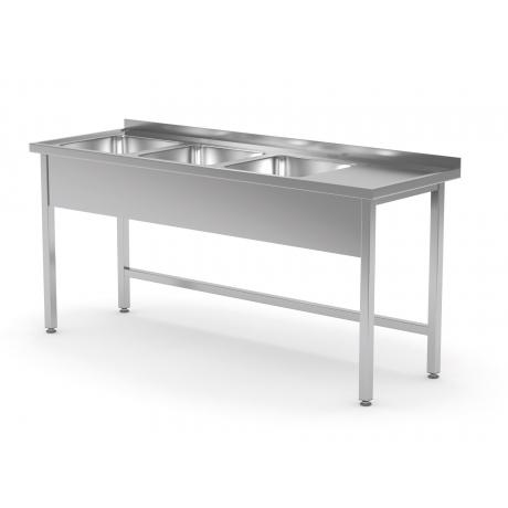 Table avec trois lavabos POL-223