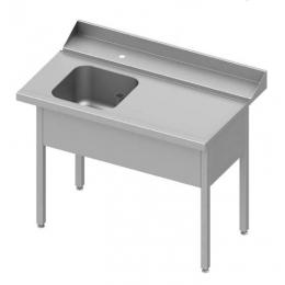 Table adossée de chargement à droite pour lave-vaisselle à capot