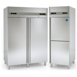 Armoire réfrigérée inox bi températures