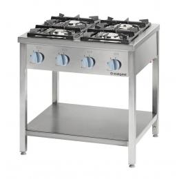Cuisinière à gaz autonome 4 brûleurs