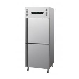 Armoire de réfrigération et congélation 2x 128,5 L