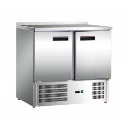Table de réfrigération à 2 portes 201 L