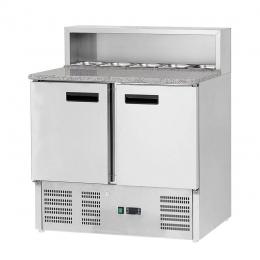 Table réfrigérée à pizza 285 L