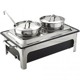 Chauffe-eau électrique avec marmites à soupe