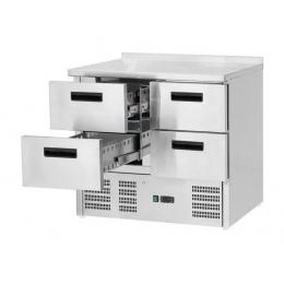 Table de réfrigération à tiroirs 130 L