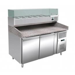 Table réfrigérée à pizza 430 L