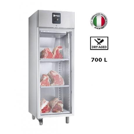 Armoire réfrigérée inox (-2°,+10°C) 700 L