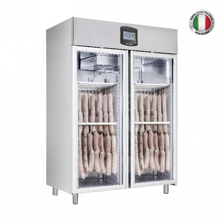 Armoire réfrigérée inox positive 1400 L