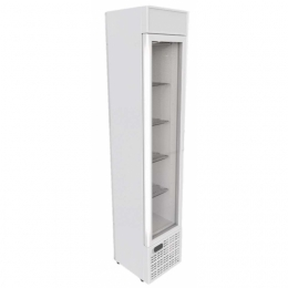 Vitrine négative Slim Freezer 99L