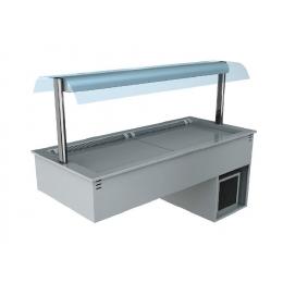 Cuve réfrigérée ventilée avec superstructure Libra