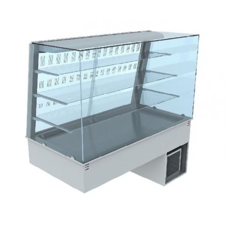 Vitrine réfrigérée ventilée ouverte Lyra