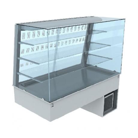 Vitrine réfrigérée ventilée avec portes coulissantes Lyra