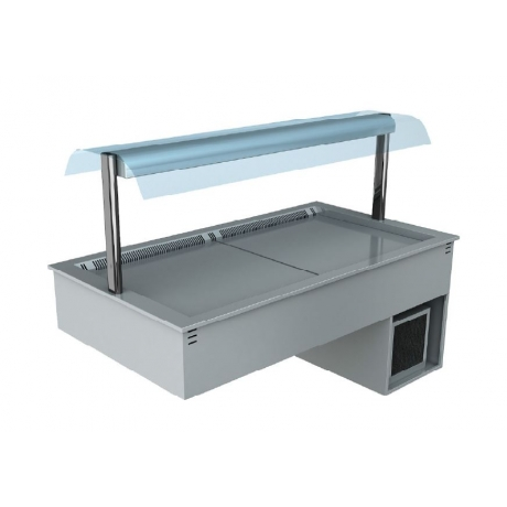 Cuve réfrigérée ventilée avec superstructure Gemini