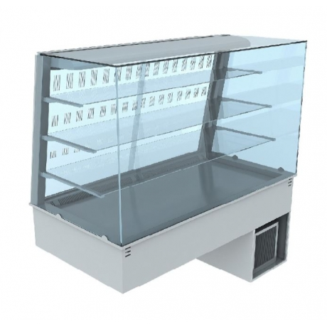 Vitrine réfrigérée ventilée avec portes coulissantes Vela