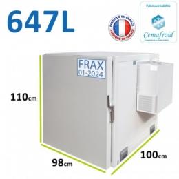 Coffre réfrigéré 647 Litres