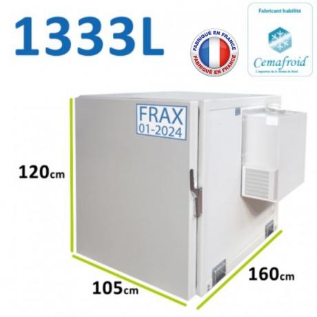 Coffre isolé isotherme non réfrigéré 300 Litres