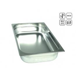Bac GN 2/1 en inox standard 650x530 mm