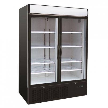 armoire vitrée une à trois portes (+1 / +10ºC)
