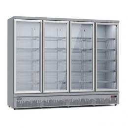 Armoire vitrée quatre portes (0 / +10ºC)
