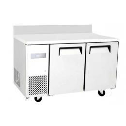 Table négative compacte – L 1200 mm avec dosseret 270 L