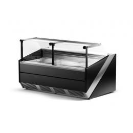 Comptoir réfrigéré vitre droite L-X