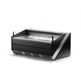 Comptoir réfrigéré libre-service vitre droite L-Xi 135/120