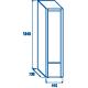 Réfrigérateur RC 300 de 300 L