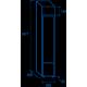 Réfrigérateur DC 105B de 105 L